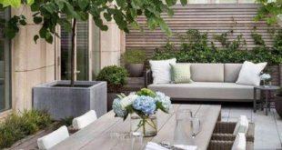 Wohnung Balkon Garten Sichtschutz Terrassen 37 Ideen