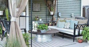 13 Ideen für großartige und günstige Terrassenmöbel 2