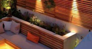 19 Trendige Terrassen mit Ideen für den Schutz der Privatsphäre im Freien