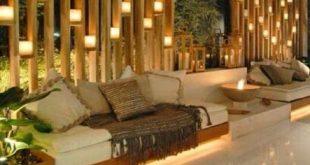 20+ Trendy Backyard Datenschutz Bambus Decks