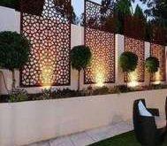 24 neue Ideen für Gartenterrassen Moderne Sichtschutzwände