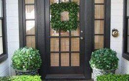 47 Beste Ideen für die Haustür mit Windows Privacy Curtains Entryway