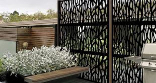 85 wunderbare Hinterhof Privatsphäre Zaun Dekor Ideen mit kleinem Budget