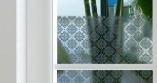 Damast Privacy Window Film - Zum Abtönen von Fenstern zu Hause