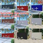 Details über Gartenterrasse Terrasse Seitenmarkise Versenkbarer, freistehender Wandschirm UK