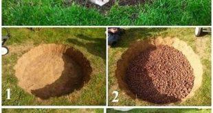 Einfache und einfache Ideen für Landschaftsbau und Gartenbau, Zeichnen von billigen