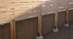Konstruktionsbeispiel für einen Zaun mit Augenbinde | Grüne Pflege | Gartengestaltung ...