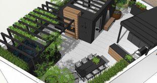 Laufende Dachterrassengestaltung. Einige meiner Ideen hier könnten inspirierend sein ...? ...