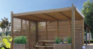 Luna Garden Lounge Outdoor Holzpavillon von Exterior Living