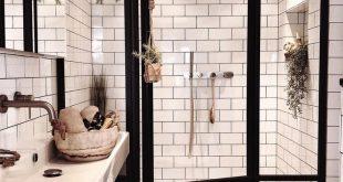 """Mid Century • Boho • Scandinavian auf Instagram: """"Ein Badezimmer unserer Träume. Das..."""