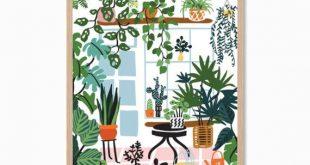 PFLANZEN | Verrückte Pflanze Lady V Poster