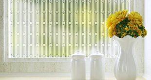 Roman Blickschutzfolie für Windows - Groß 48 x 84 Zoll