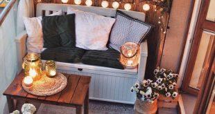 Ruheecke auf dem Balkon - Außenbereiche nicht vernachlässigen ...- Angolo rela ...