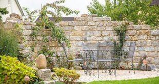 Schildsitz im Garten #Blickschutz #Garten