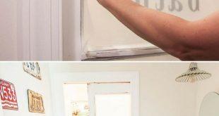 Sie machen eine bessere Tür als ein Fenster. AKA DIY Privacy Film Tutorial.