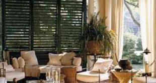 Wohnkultur - Wenn der Winter vor der Tür steht, denken Sie an Terrassen und Innenhöfe. Eine Jalousie ...