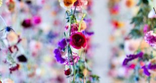 Wow ❤ Ein Blumenmeer l Perfekte Dekoration für die Sommerhochzeit